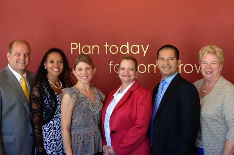 2014 LILI Graduates with LILI Moderator Judy Woertz Paul Ford (West Valley), Regina Holmes (Scottsdale), Melissa Bartusch (Phoenix), Susan Carlson (Phoenix), Juan Ibarra Tucson) and Judy Woertz