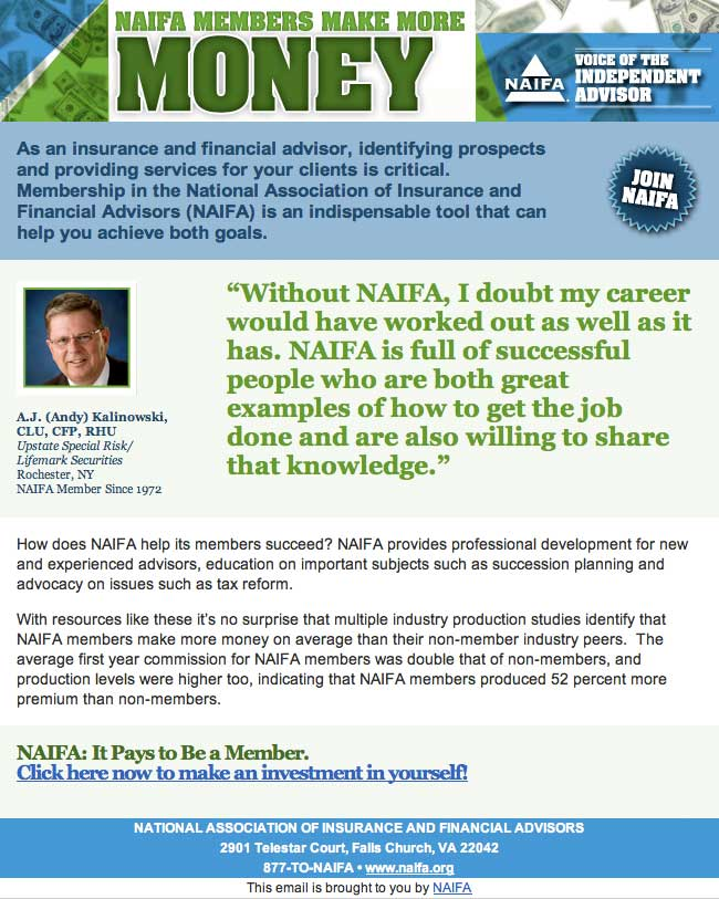 Naifa Members Make More Money