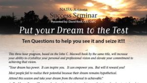 Put Your Dream to the Test @ MassMutual