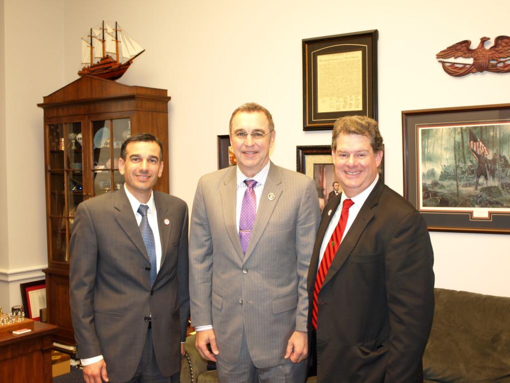 Michael Klein, Congressman Matt Salmon, 'Hoot' Gibson